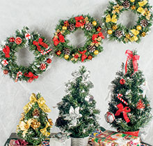 Christmas Trees & Wreaths