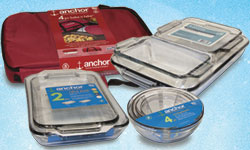glass cookware from Anchor Hocking