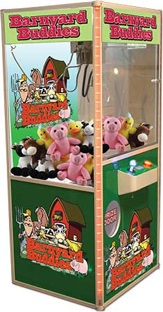 barnyard Claw machine