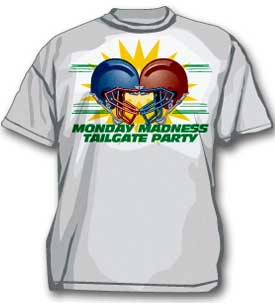 Monday Madness Tailgate Party